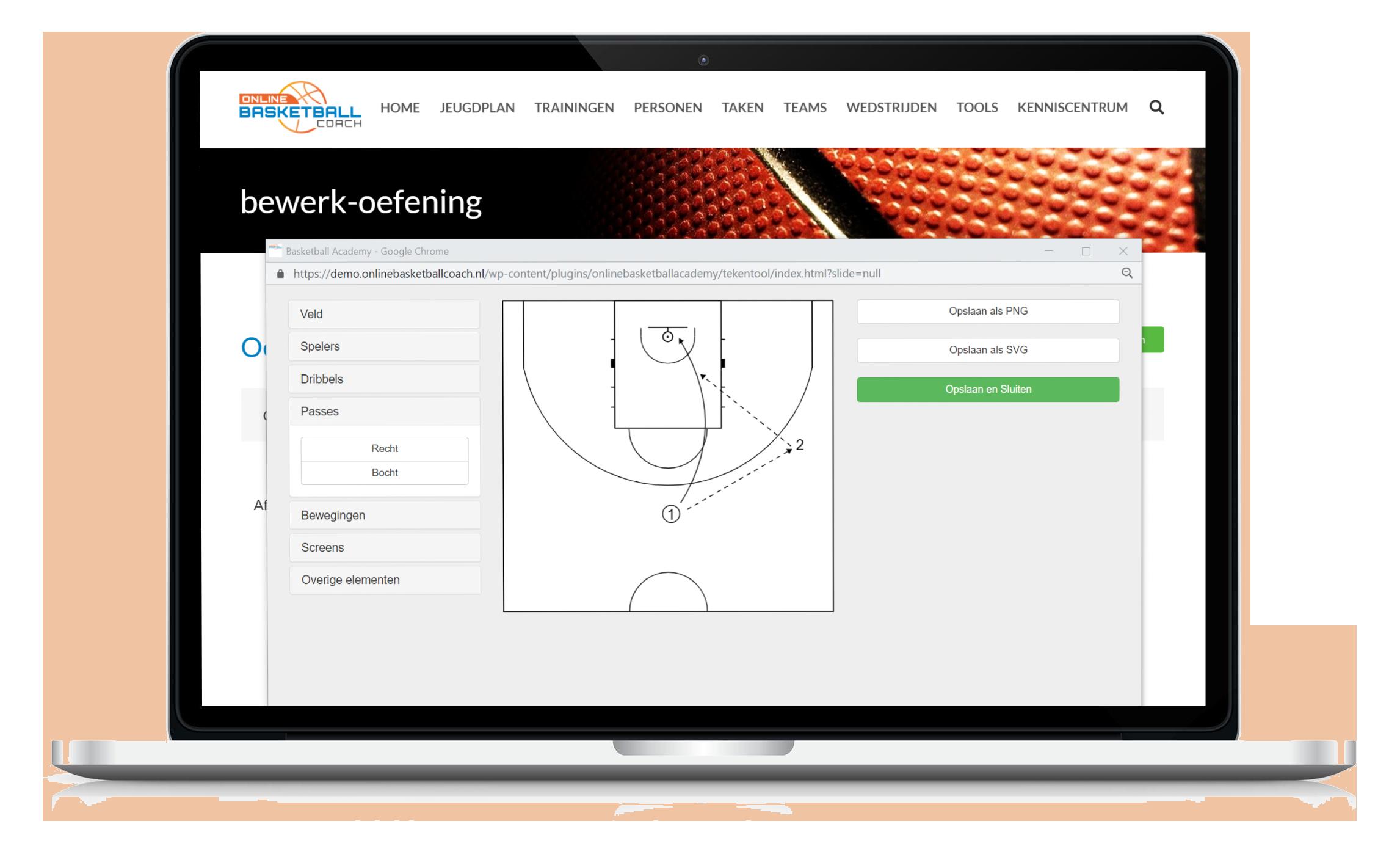 basketbal oefening zoeken voor je training