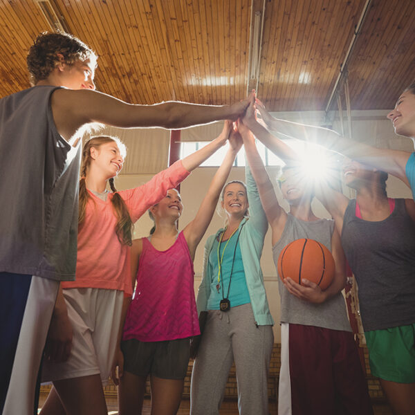 basketball team building oefening drills