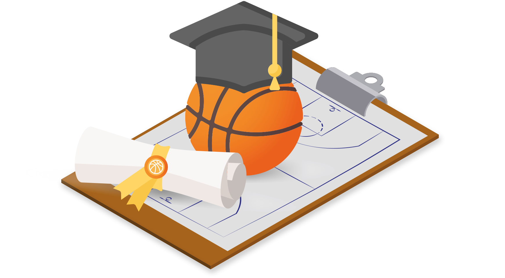 online basketball training of cursus
